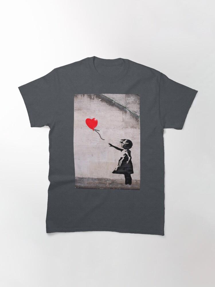 Alternate view of Banksy, Hope Classic T-Shirt