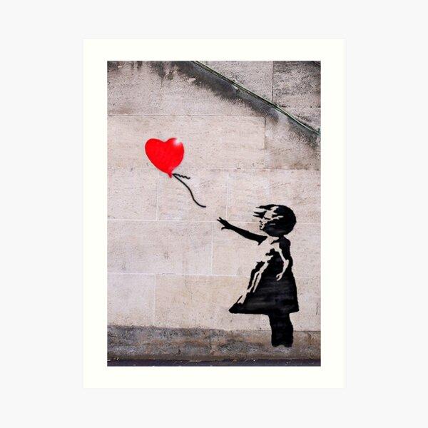 Banksy, esperanza Lámina artística