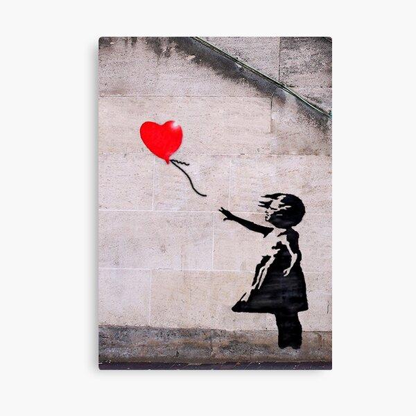 Banksy, l'espoir Impression sur toile