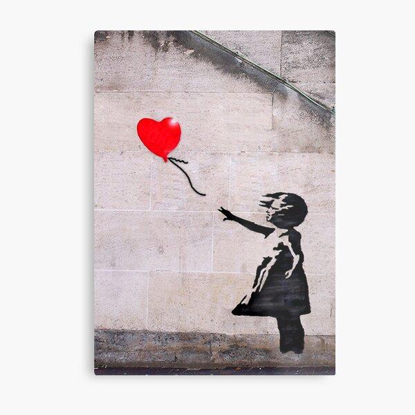 Banksy, l'espoir Impression métallique