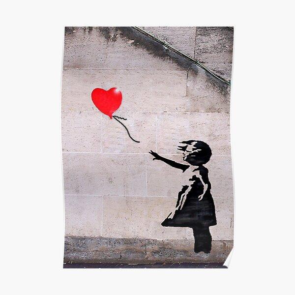 Banksy, l'espoir Poster