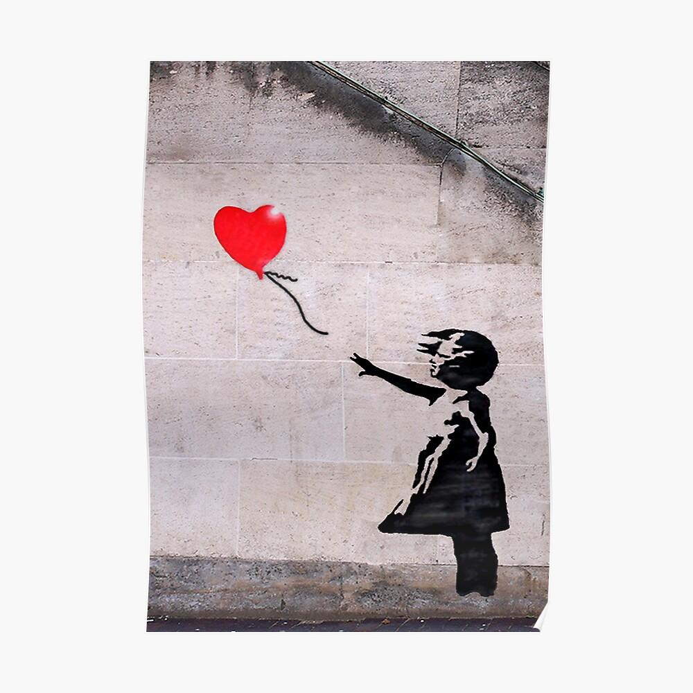 Banksy, Hoffnung Poster