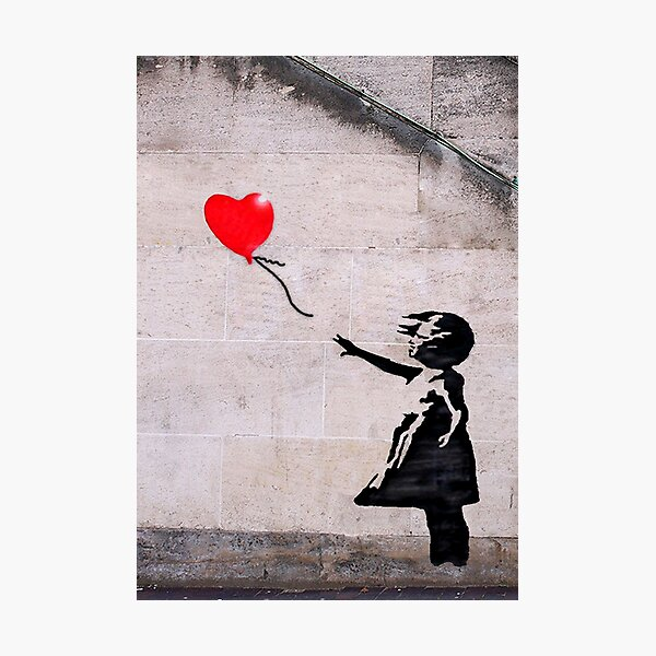 Banksy, Hope Photographic Print