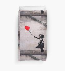 Banksy, Hope Duvet Cover