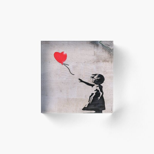 Banksy, Hope Acrylic Block