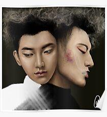 Z-Tao - Black & White Poster
