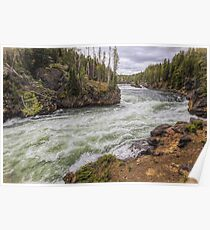 The Yellowstone River Poster