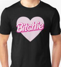 bitchie barbie chanel t shirt Unisex T-Shirt