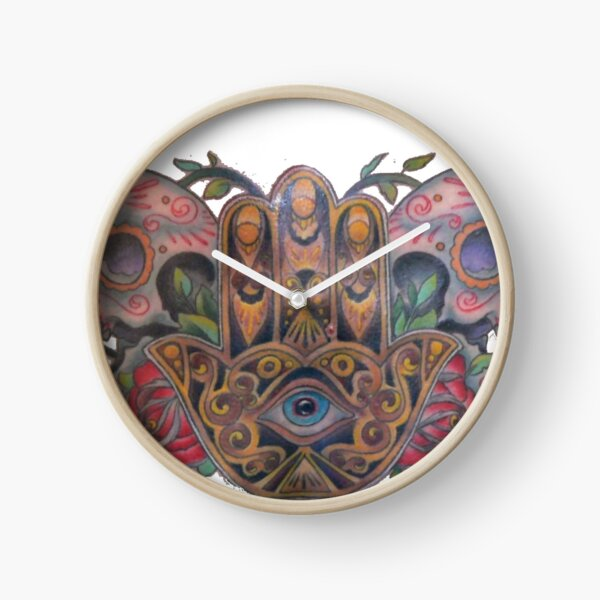 Tattoo Pattern Clock
