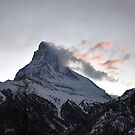 Matterhorn at Sunset by Rosy Kueng Photography