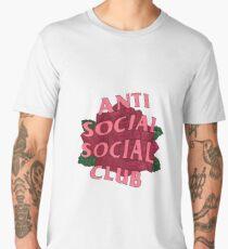 Anti Social Social Club Rose Men's Premium T-Shirt
