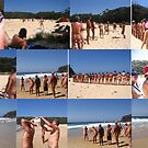 Good, clean fun. Naturally. Naturists, on Armands Beach.  by MrJoop