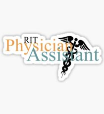 RIT Physician Assistant Sticker