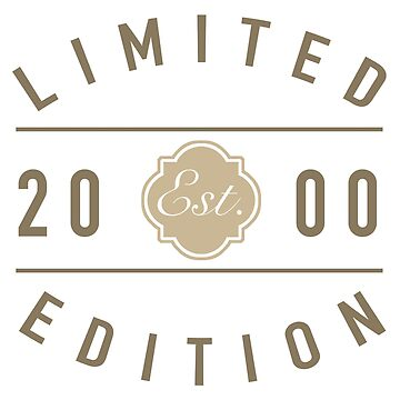 2000 Limited Edition by thepixelgarden