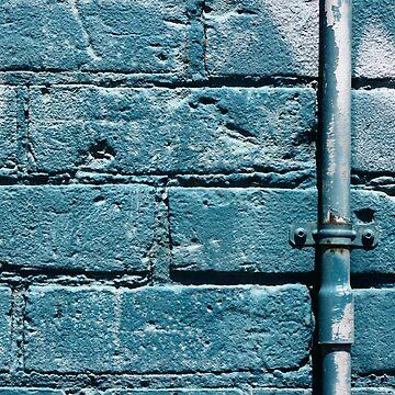 cerulean wall II by KreddibleTrout