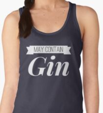 May contain Gin Women's Tank Top