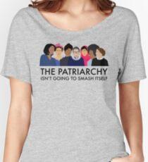 Le patriarcat ne va pas se détruire T-shirts coupe relax