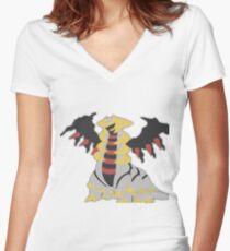 Giratina Women's Fitted V-Neck T-Shirt