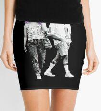 Maniac Dark Comedy Stlye Mini Skirt