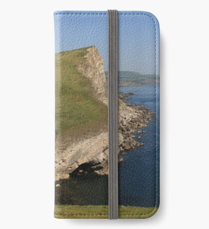 Gad Cliff From Worbarrow Tout iPhone Wallet