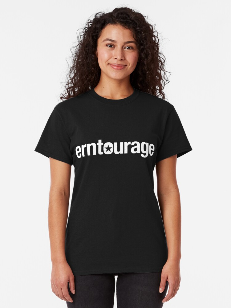 Alternate view of Join the ERNtourage! Classic T-Shirt