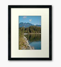 Skyhomish River in Washington State Framed Print