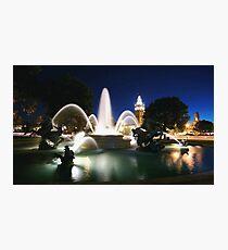 The Plaza Photographic Print