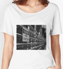 DANGER - HOT - Do Not Touch! Women's Relaxed Fit T-Shirt