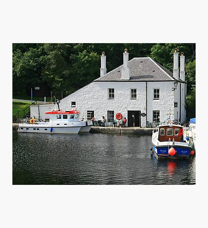 Crinan Locks Photographic Print
