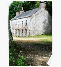 """""""Jersey Farm House"""" Poster"""