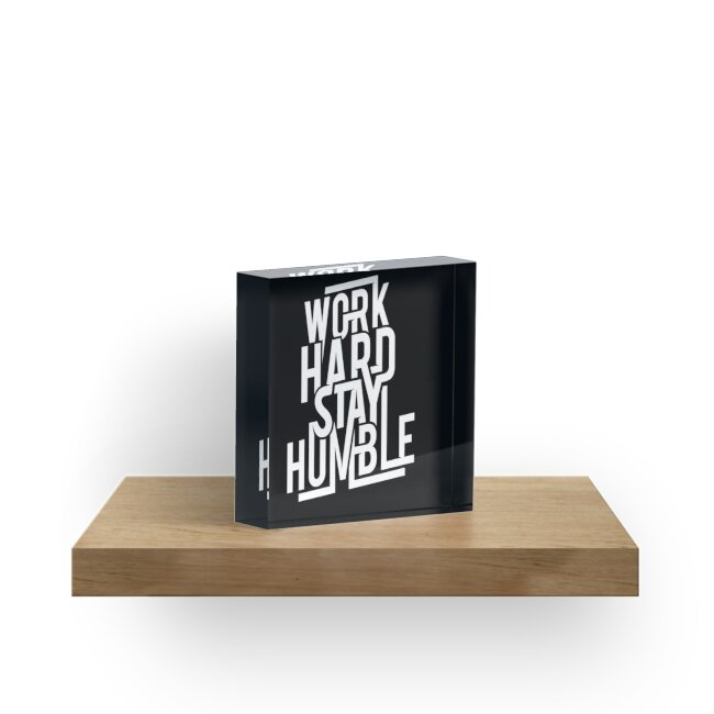 «Trabaja duro Manténgase humilde - Hustle Hard» de MagneticMama