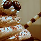 Chocolate Coffee Cup by Cricket Jones