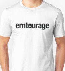 ERNtourage black font Unisex T-Shirt