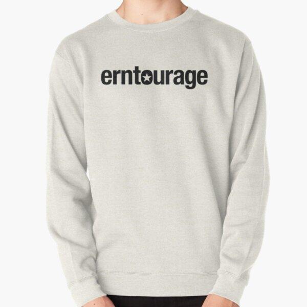 ERNtourage black font Pullover Sweatshirt