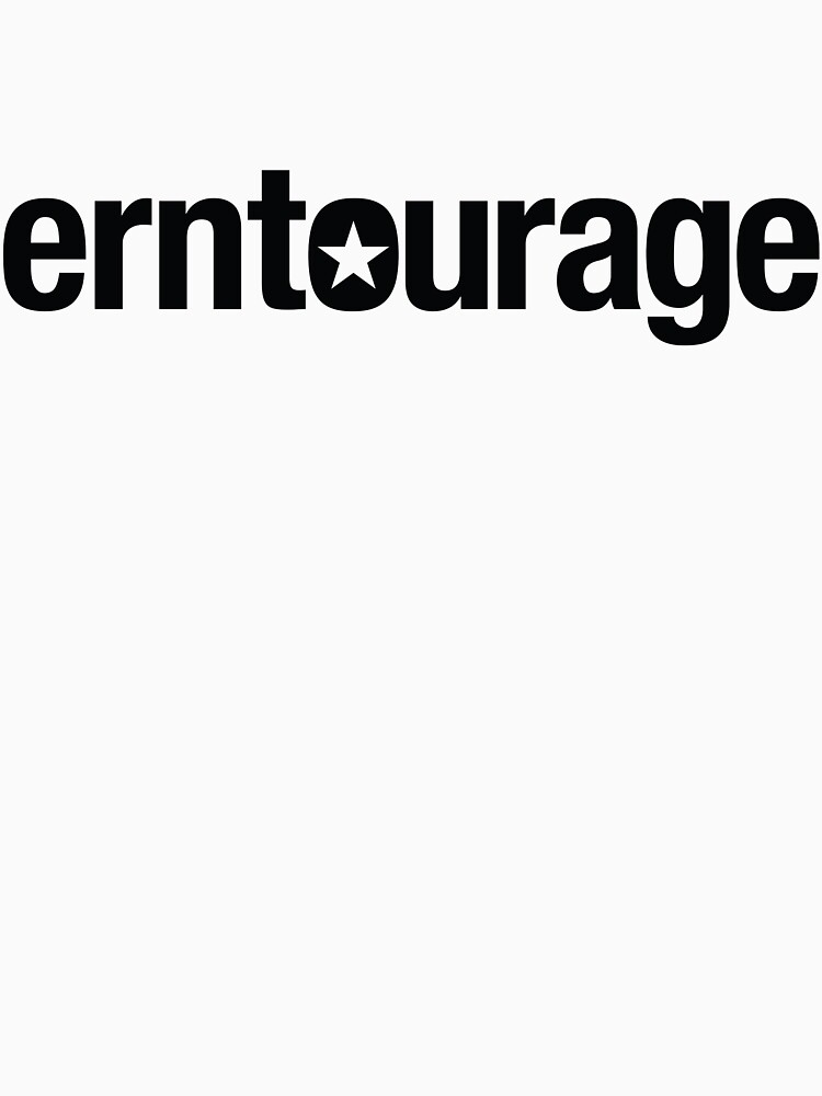 ERNtourage black font by ernievicente
