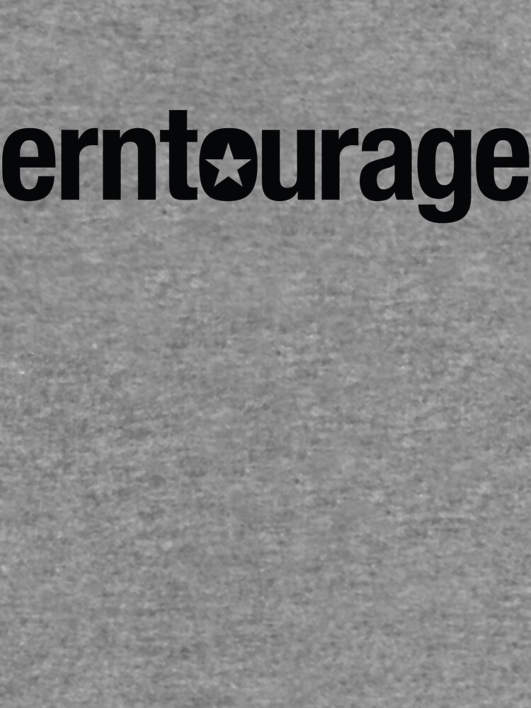 ERNtourage black font by ernievicente