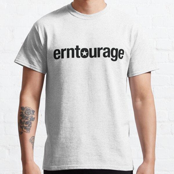 ERNtourage black font Classic T-Shirt