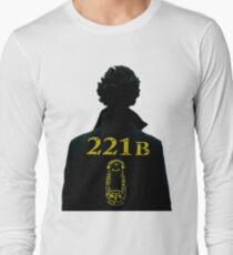 Sherlock 221b Long Sleeve T-Shirt