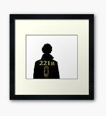 Sherlock // 221b Framed Print