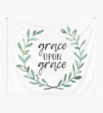 Grace Upon Grace Wall Tapestry
