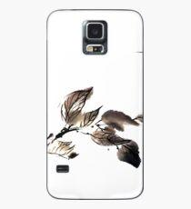 Autumn leaves sumi e Case/Skin for Samsung Galaxy