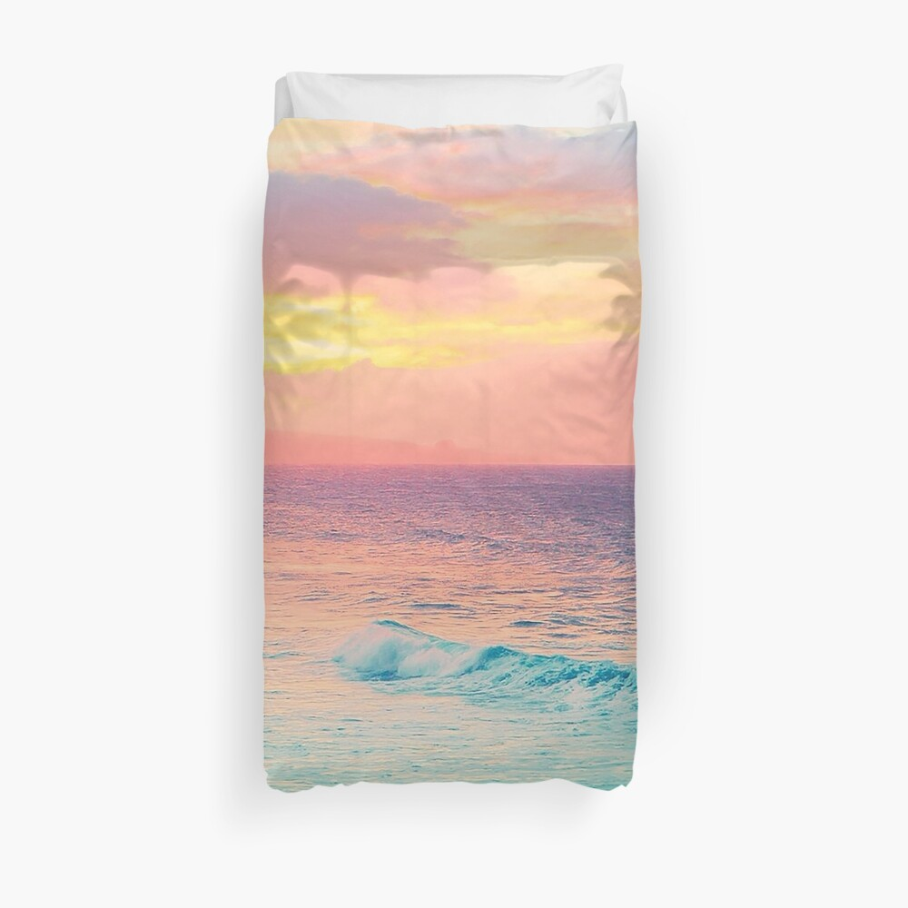 Hookipa Surf Sunset Duvet Cover