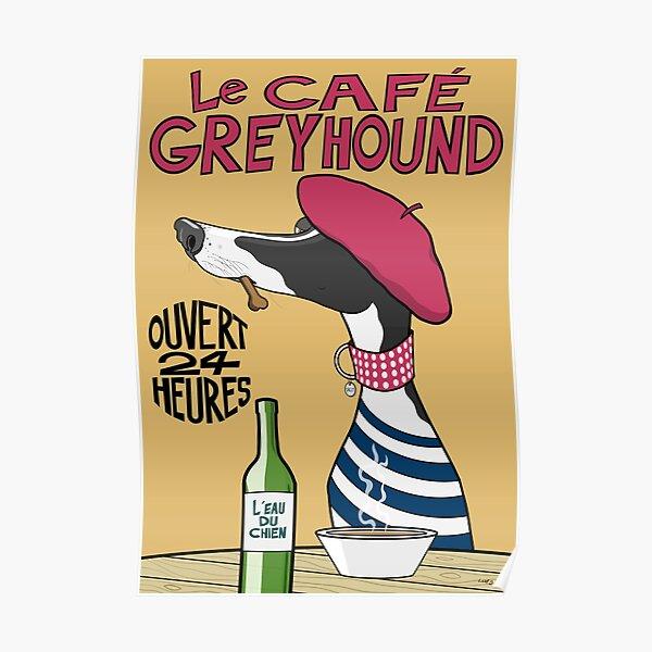 Le Café Greyhound Poster