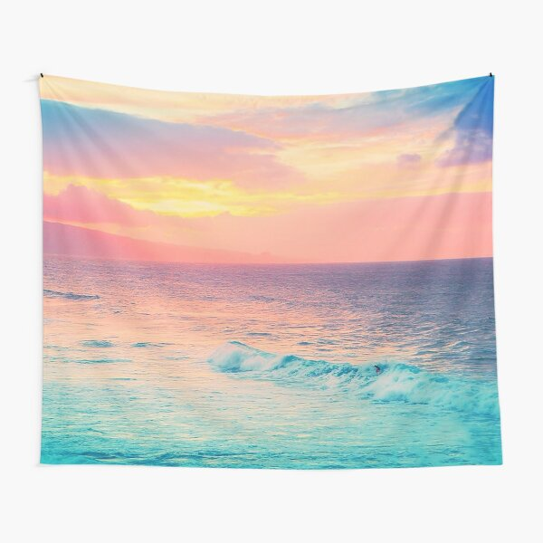 Hookipa Surf Sunset Tapestry