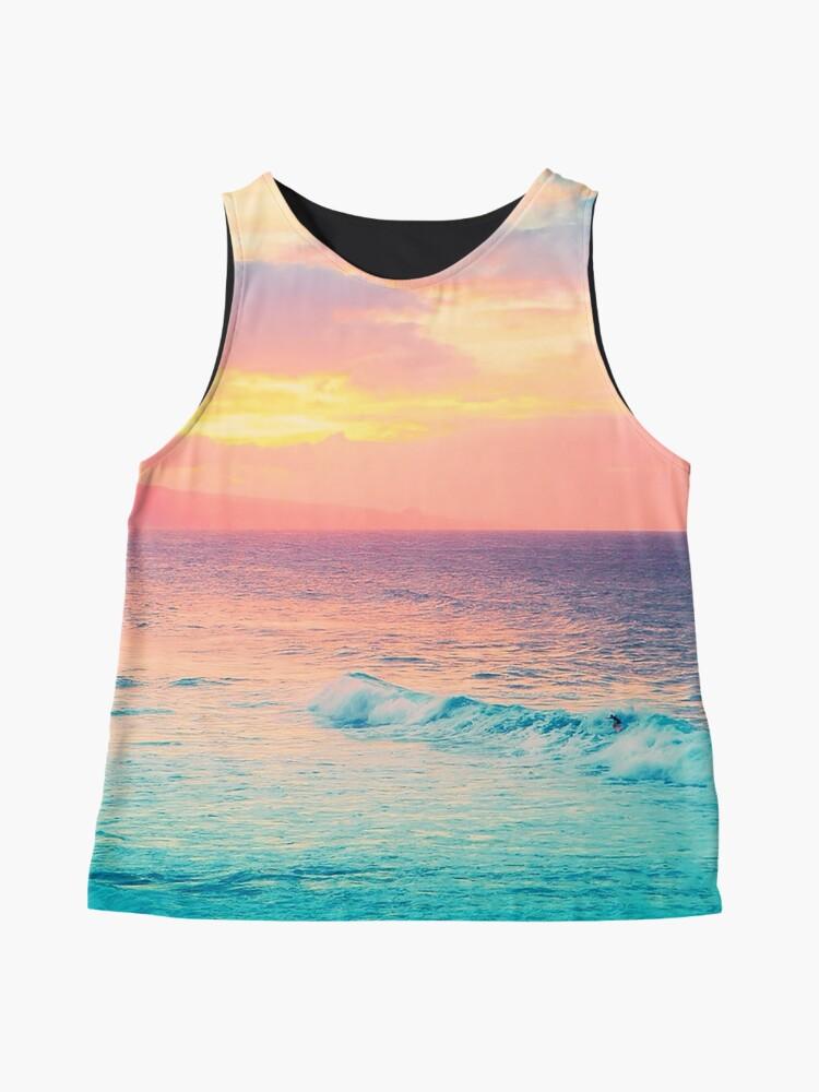 Alternate view of Hookipa Surf Sunset Sleeveless Top