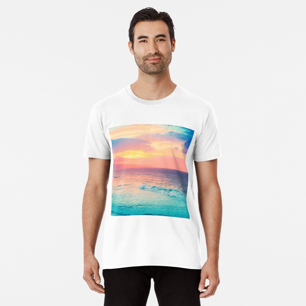 Hookipa Surf Sunset Premium T-Shirt