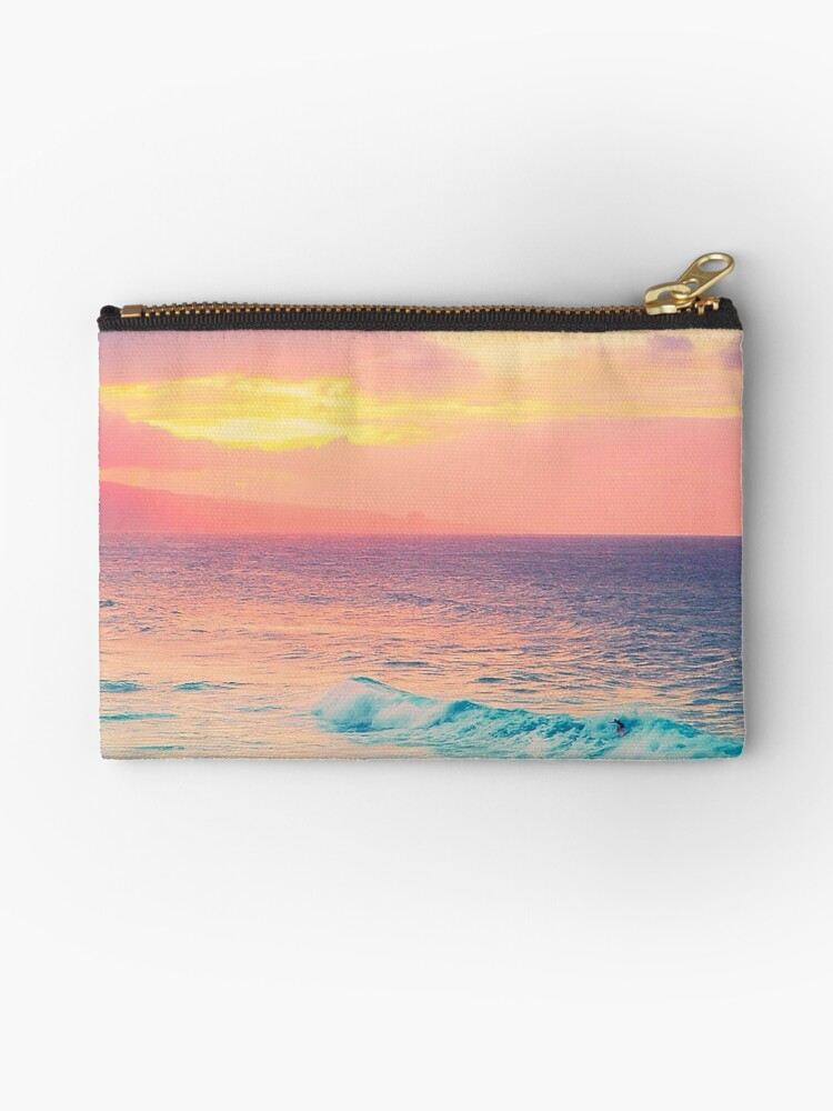 Hookipa Surf Sunset by Angelina Hills