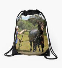EQUINE BATH Drawstring Bag