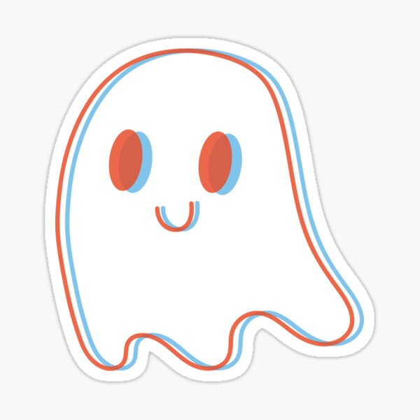 Acid Ghost Sticker