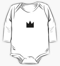 Black Crown One Piece - Long Sleeve